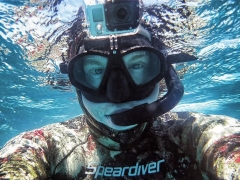 Speardiver Stealth Mask With GoPro Mount